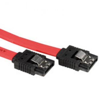 ROLINE Internal SATA 3.0 Gbit/s Cable with Latch 0.5 m