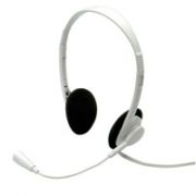 VALUE Headset with Microphone, light grey