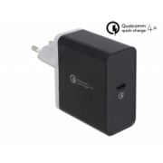 Delock USB Charger 1 x USB Type-C™ PD 3.0 / Qualcomm® Quick Charge™ 4+ with 27 W