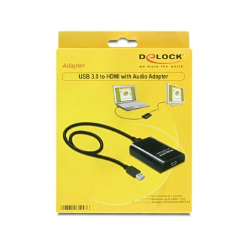 Delock USB 3.0 HDMI adapteri
