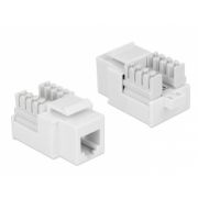 Delock Keystone module RJ12 female > LSA Cat.3 white