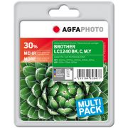 AGFAPHOTO BROTHER LC1240 mustekasetti MULTIPACK