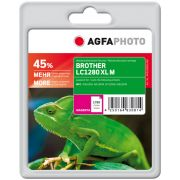 AGFAPHOTO BROTHER LC1280XL mustekasetti, magenta