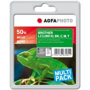 AGFAPHOTO Brother LC1280XL MULTIPACK