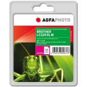 AGFAPHOTO BROTHER LC225XLM MAGENTA MUSTEKASETTI