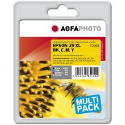 AGFAPHOTO EPSON 29XL MULTIPACK, musta, CMY
