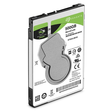 Seagate Barracuda 500GB HDD 5400rpm SATA 6Gb/s 128MB 2,5""