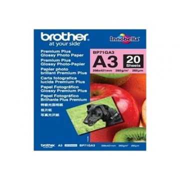 BROTHER BP71GA3 photo paperi A3 20 kpl