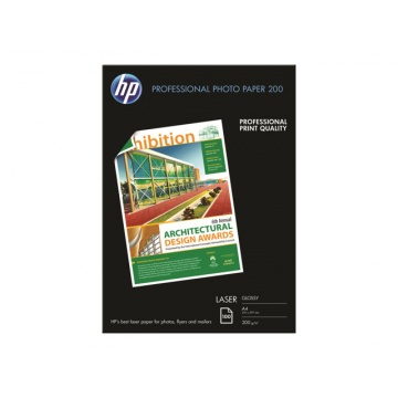 HP Professional Glossy A4 paperi Laser 200g 100kpl