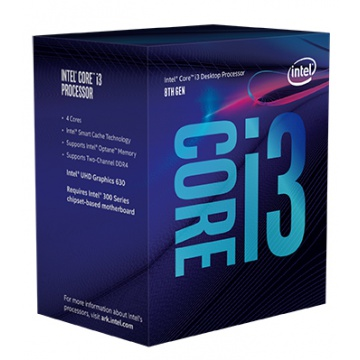 Intel Core i3-8100 3,6 GHz LGA1151 Socket boxed