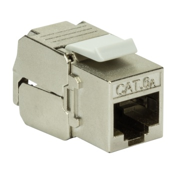 Keystone Jack Cat.6A STP PrimeLine Toolless+Punchdown