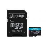 Kingston Canvas Go! Plus 256GB microSDXC 170R/90W U3 UHS-I V30
