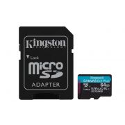 Kingston Canvas Go! Plus 64GB microSDXC 170R/70W U3 UHS-I V30