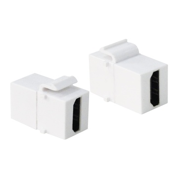Keystone Coupler HDMI F/F, white