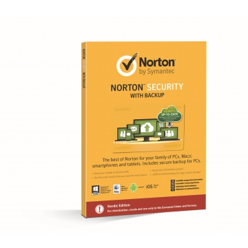 Norton Security Premium 3.0 with Backup 10laitetta 12kk