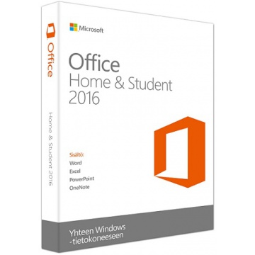 Microsoft Office Home and Student 2016 SF (ei mediaa)