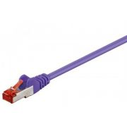 Ethernetkaapeli Cat6 S/FTP violetti 25m