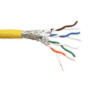 Ethernetkaapeli S/FTP Cable Cat.8 (Class I), Solid Wire, LSOH, 100 m