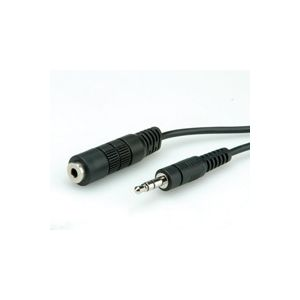 ROLINE 3.5mm Extension Cable, M/F 3 m