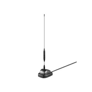 DVB-T antenna with amplifier