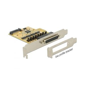 Delock PCI Express Card > 4 x Serial with voltage supply