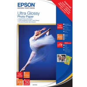 Epson Ultra Glossy Photo Paper - 10x15cm - 50 Arkkia