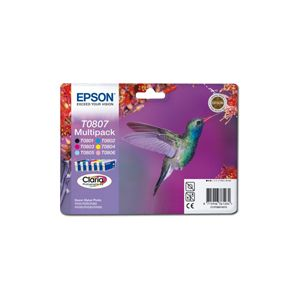 EPSON Ink T0807 Claria Multipack