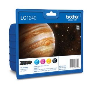 Brother LC1240 MULTIPACK 4 värikasettia