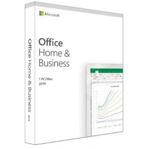 Microsoft Office Home and Business 2019 SF (ei mediaa)