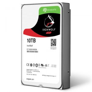 Seagate Ironwolf 10TB Nas HDD 7200rpm SATA 6Gb/s 256MB 3,5""